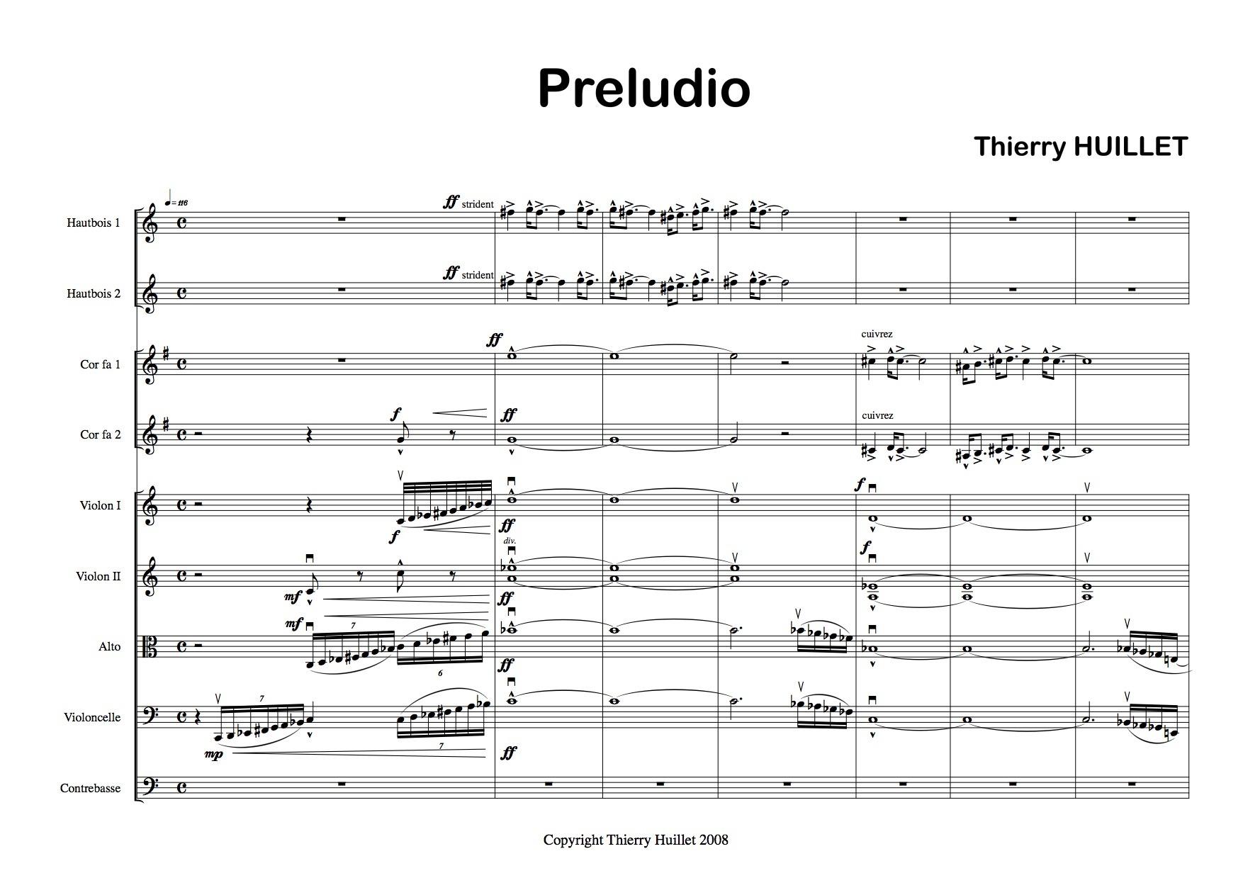 Thierry Huillet Preludio Scoreparts2