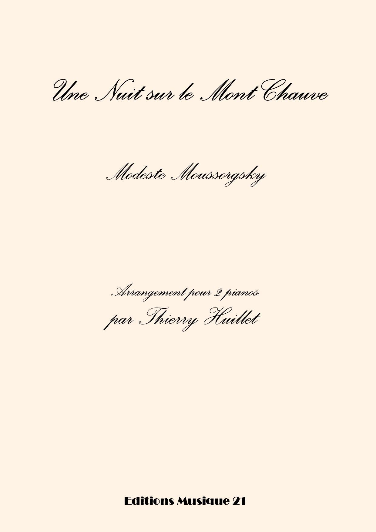Moussorgsky: Une Nuit Sur Le Mont Chauve