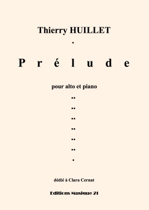 Huillet: Prelude, For Viola And Piano (or Organ)
