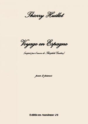 Voyage En Espagne, For 2 Pianos (2 Pianos Score)