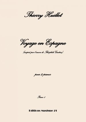 Voyage En Espagne, For 2 Pianos (individual Score For Each Piano)